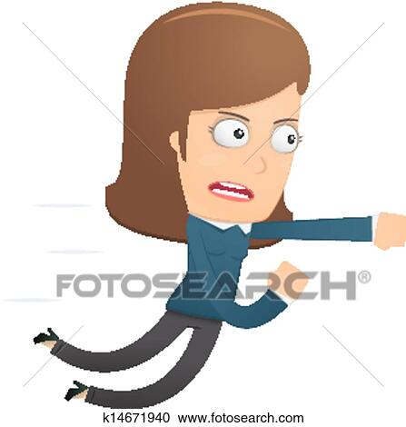 clipart of girl manager suitable for use in dialogues with other rh fotosearch com manager clipart black and white manager clipart black and white