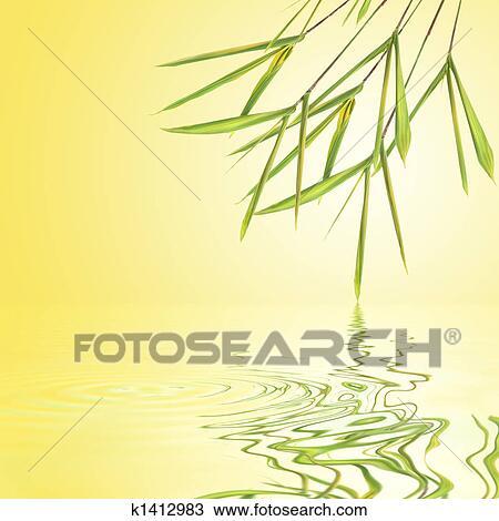 dessin bambou feuille herbe beaut k1412983 recherchez des cliparts des illustrations et. Black Bedroom Furniture Sets. Home Design Ideas