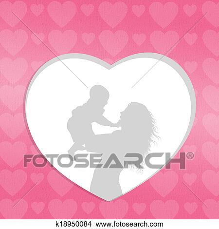 手绘图 - 母亲节