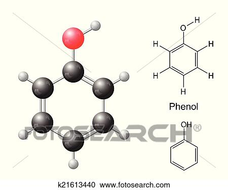 Phenol Structure Formula Structural Chemical Formulas