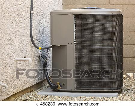 Stock photography of air conditioner compressor k1458230 for Air conditionn mural