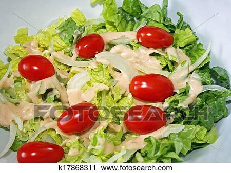 Салат сада фото