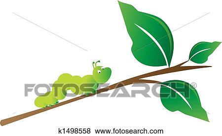 Caterpillar Clip Art Vector Graphics. 2,936 caterpillar EPS ...