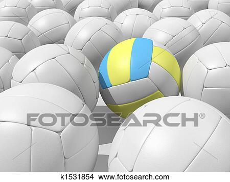 手绘图 - 球