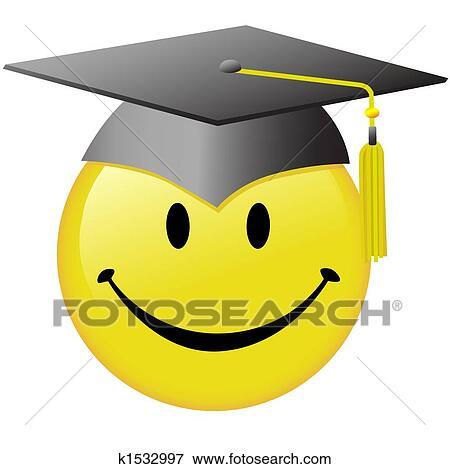 Clipart of Smile button k6580033 - Search Clip Art, Illustration ...