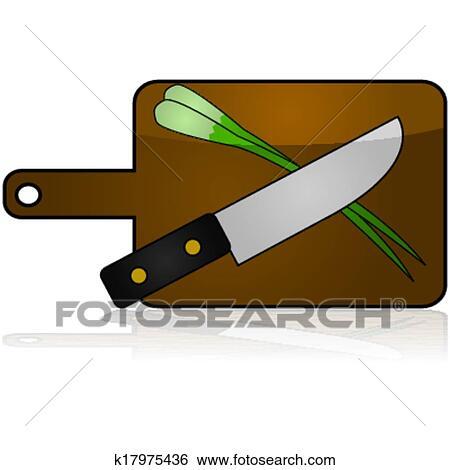 Schneidebrett clipart  Clip Art - schneidebrett k17975436 - Suche Clipart, Poster ...