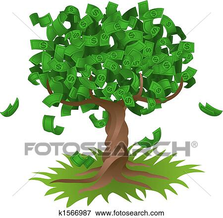 Free Money Drawings Money Growing on Tree