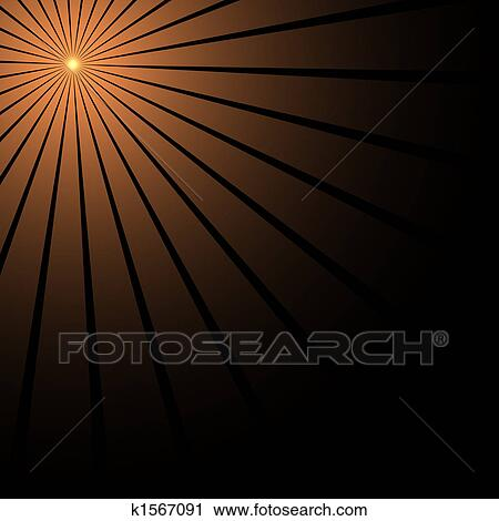 Clipart of Ray of light k1567091 - Search Clip Art ...