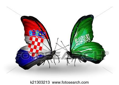 符号, 在中, 关系, 克罗地亚图片