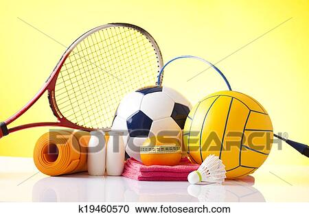 Banques de photographies r cr ation loisir quipement sports k19460570 - Sport loisir equipement ...