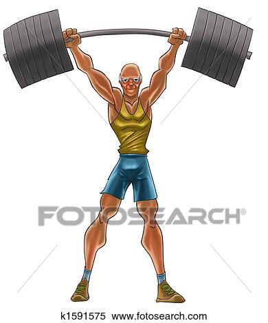 Strong man Illustrations and Clipart. 6,177 strong man royalty ...