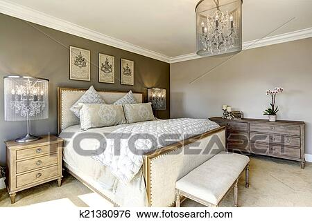 banque dimages luxe chambre 224 coucher interor