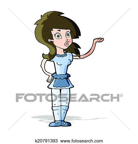 clipart of cartoon pretty waitress k20791393 search clip art rh fotosearch com waitress clip art free waiter waitress clipart