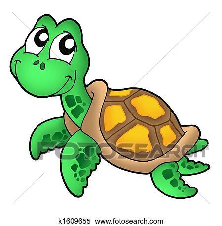 Clip Art Sea Turtle Clipart turtle clipart and stock illustrations 2331 vector eps little sea turtle