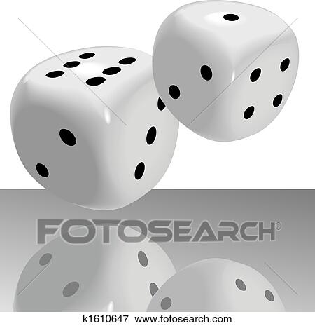 lucky 7 dice clip art