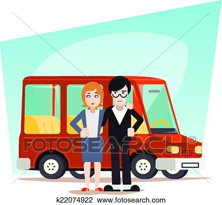 Car Travel Clipart