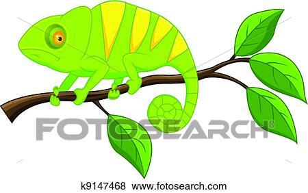 clip art of chameleon k9147468 - search clipart, illustration