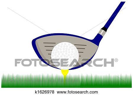 Stock Illustration of Golf club k1626978 - Search EPS Clip Art ...