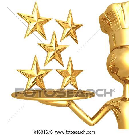 Dessin 5 toile restaurant classement k1631673 for Cuisinier 32 etoiles