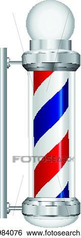 Clip art simbolo barbiere lampada k21984076 cerca for Simbolo barbiere