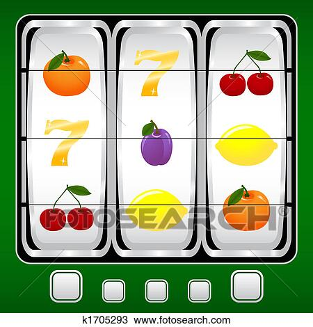 Slot machine Illustrations and Clipart. 815 slot machine royalty ...