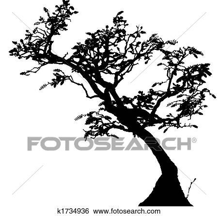 Banque d 39 illustrations bonsai k1734936 recherche de - Dessin bonzai ...