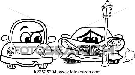 Como dibujar un carro chocado - Imagui