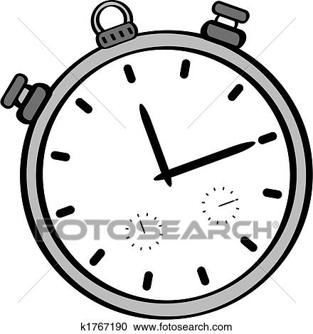 stopwatch clipart. clipart cartoon stopwatch fotosearch search clip art illustration murals drawings and l