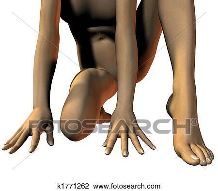 Clip Art Naked 112