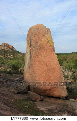 Stock Photography of Huge Boulder at Enchanted Rock ... - photo#4