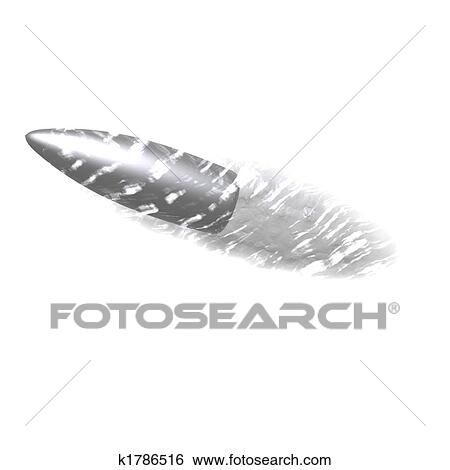 Stock Illustration of flying bullet k1786539 - Search Vector ...