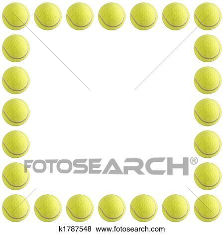 tennis balls frame easy - photo #24