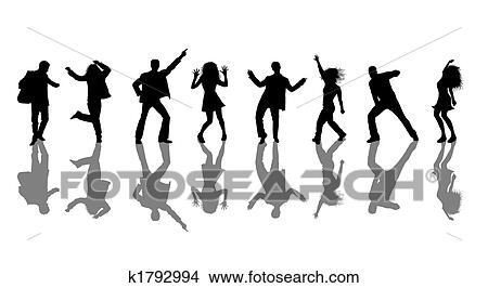 Disco dancing Illustrations and Clipart. 8,788 disco dancing ...
