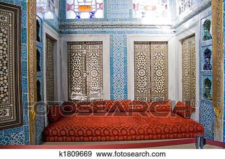 Archivio fotografico biblioteca in istanbul palazzo - Il divano di istanbul ...
