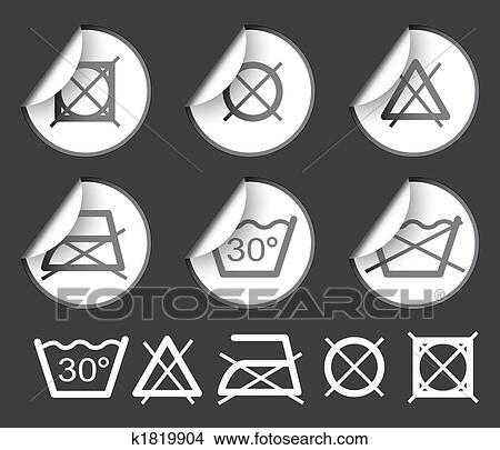 zeichnungen w sche gewebe symbole k1819904 suche. Black Bedroom Furniture Sets. Home Design Ideas
