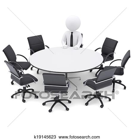 Dessin 3d homme les rond table sept vide for Table 3d dessin