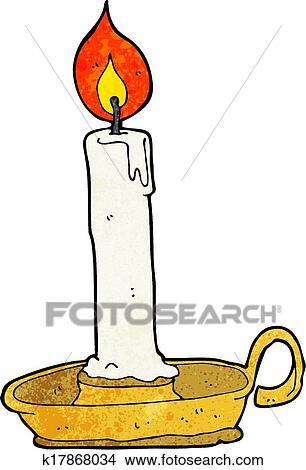 画, 燃烧, 蜡烛