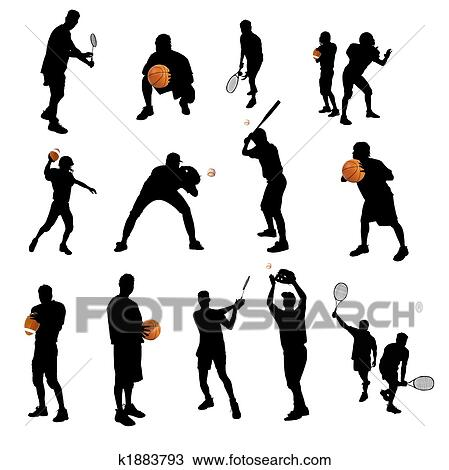 sports crowd clipart. drawing - isolated sports silhouettes. fotosearch search clipart, illustration, fine art prints crowd clipart