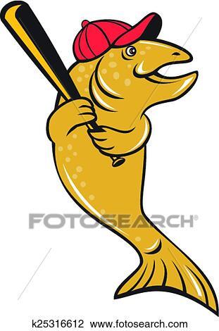 剪贴画 - 鲑属鱼类鱼,