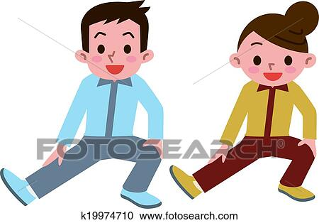 clipart of young men and women has a stretch k19974710 search clip rh fotosearch com young clipart png young clipart