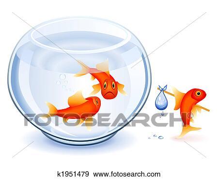 Banque d 39 illustrations poisson rouge mancipation for Recherche poisson rouge
