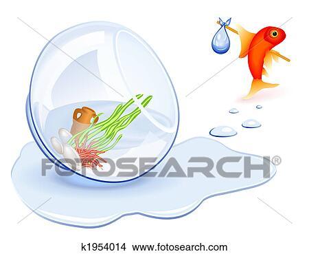 Dessins poisson rouge sdf k1954014 recherche de clip for Recherche poisson rouge