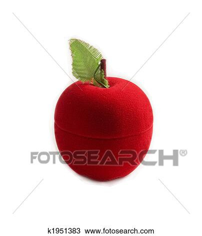 red object apple