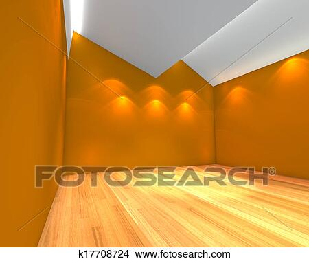 ... , parete, con, soffitto, serration, e, decorato, con, legno, floors
