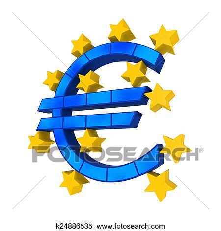 stock illustration of european union symbol k24886535