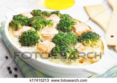 Запечь картошку с семгой рецепт фото