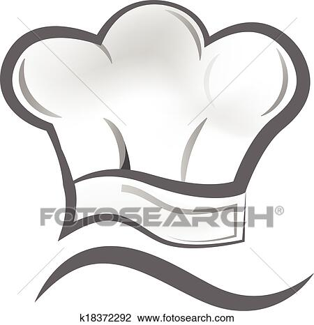 clipart of chef hat logo k18372292 search clip art