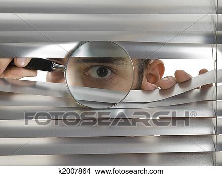 Stock Photo Of Extreme Peeping Tom K2007864 Search Stock