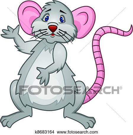 老鼠, 卡通漫画