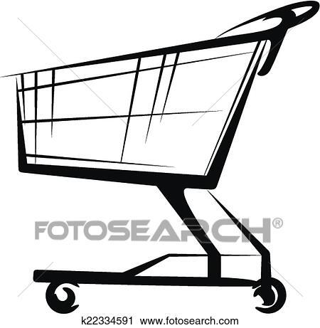 clipart of cart k22334591 search clip art illustration murals rh fotosearch com shopping cart clipart free shopping cart clipart free